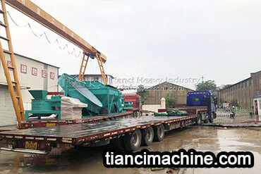 Disc Granulator and Drum Granulator Organic Fertilizer Production Line Delivery Site1