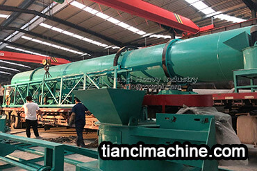 Disc Granulator and Drum Granulator Organic Fertilizer Production Line Delivery Site2