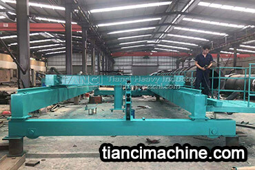 Disc Granulator and Drum Granulator Organic Fertilizer Production Line Delivery Site4