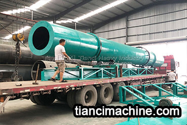 Disc Granulator and Drum Granulator Organic Fertilizer Production Line Delivery Site5