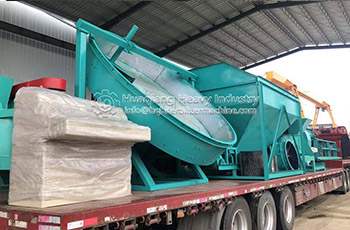 Disc Granulator and Drum Granulator Organic Fertilizer Production Line Delivery Site