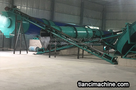Malaysia Organic Fertilizer Production Line Installation Site