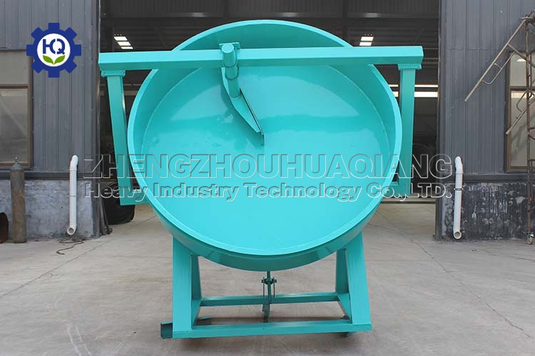 What is the granulation rate of disc granulator related to?