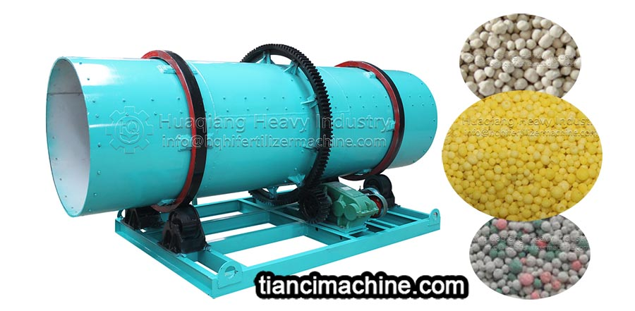 The friction between the inner wall of drum granulator and raw materials affects the granulation efficiency