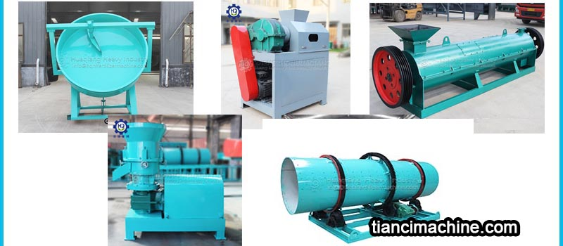 How to choose suitable granulator for organic fertilizer