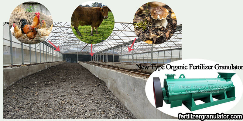 Organic fertilizer machine plays an important role in promoting agricultural development