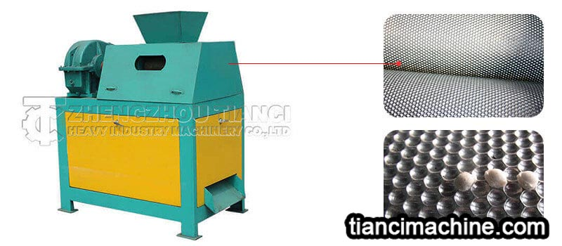 Roll skin related knowledge of the double roller extrusion granulator