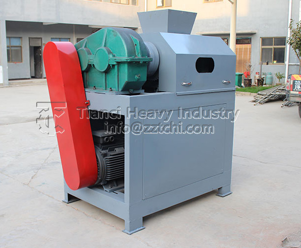 Environmental friendly double roller granulator with high quality