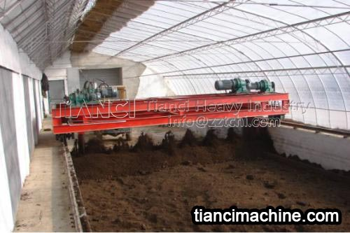 Chicken manure organic fertilizer production equipment to rectify livestock and poultry pollution