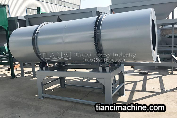 Which granulator is most suitable for compound NPK fertilizer