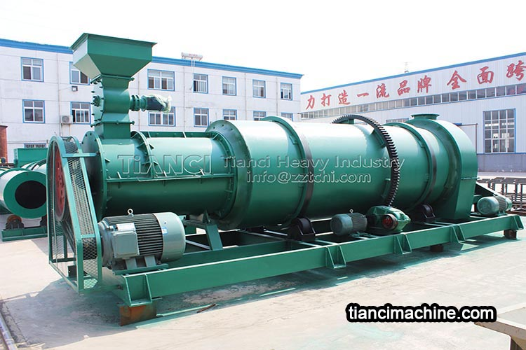 What are the installation standards of organic fertilizer granulator machine